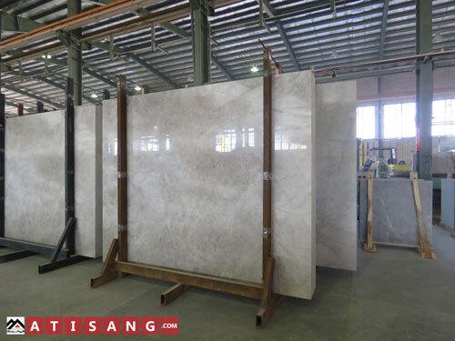 سنگ مرمریت پرشین سیلک معدن بیات در اندازه اسلب با کیفیت ممتاز برای استفاده در کف مراکز تجاری و ساختمانی