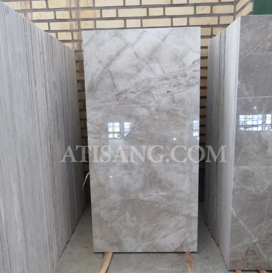 سنگ ساختمانی مرمریت پرشین سیلک یا سیلک امپرادور در ابعاد طولی و پله