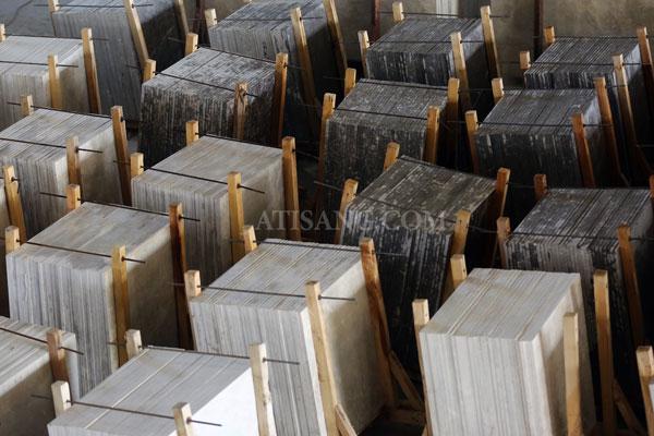 انواع سنگ ساختمانی تولیدی گروه آتیسنگ