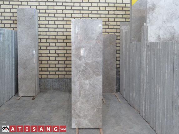 تولید پله طولی سنگ ساختمانی مرمریت پرشین سیلک با کیفیت صادراتی