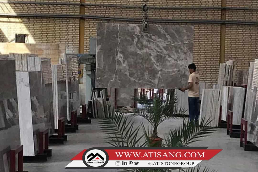 سنگ ساختمانی با کیفیت ایرانی نظیر پرشین سیلک