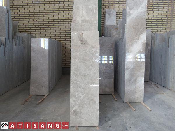 ابعاد طولی سنگ ساختمانی مرمریت