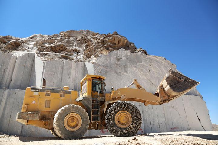 معدن مرمریت بیات نیریز (پرشین سیلک)