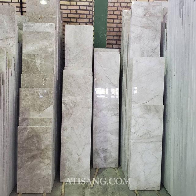 انواع سنگ مرمریت و چینی در ابعاد طولی | گروه آتی سنگ