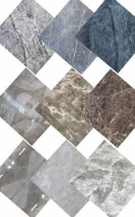 انواع سنگ ساختمانی مرمریت و کریستال