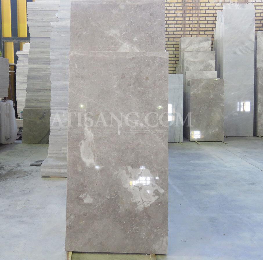 سنگ مرمریت طولی پرشین سیلک خاکستری